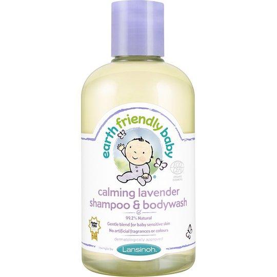 Earth Friendly Baby Calming Lavender Shampoo & Bodywash, 250 ml