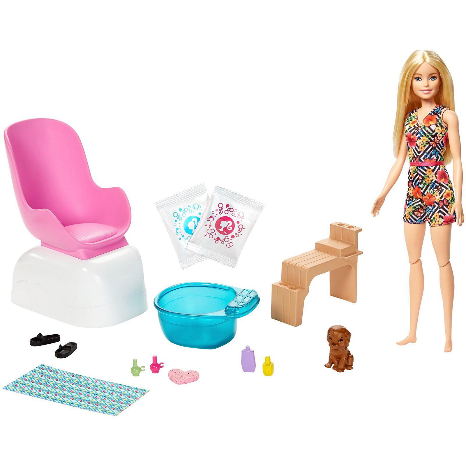 Barbie - Mani-Pedi Spa Playset (GHN07)