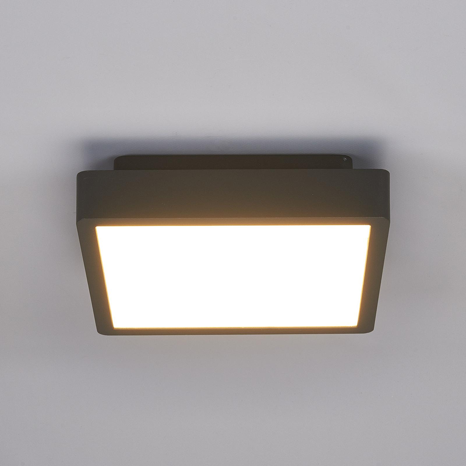 Kulmikas Talea-LED-ulkokattovalaisin
