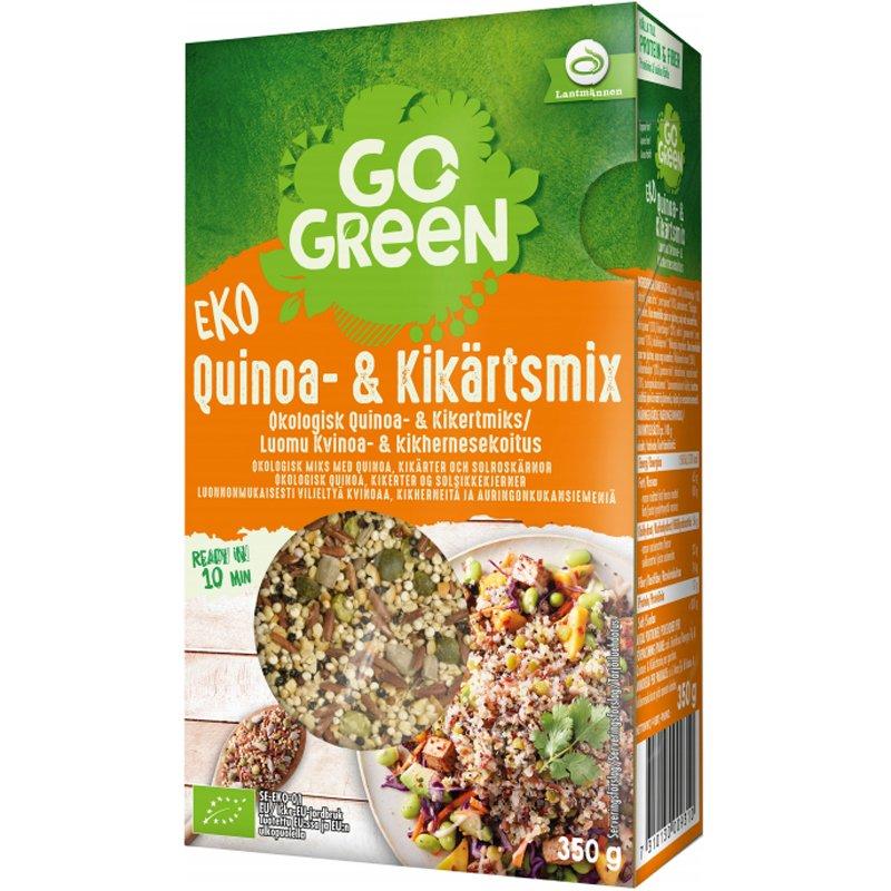 Luomu Kvinoa- & Kikhernesekoitus - 29% alennus