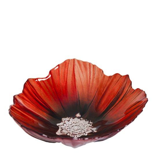 Målerås Glasbruk - Poppy Skål 19 cm