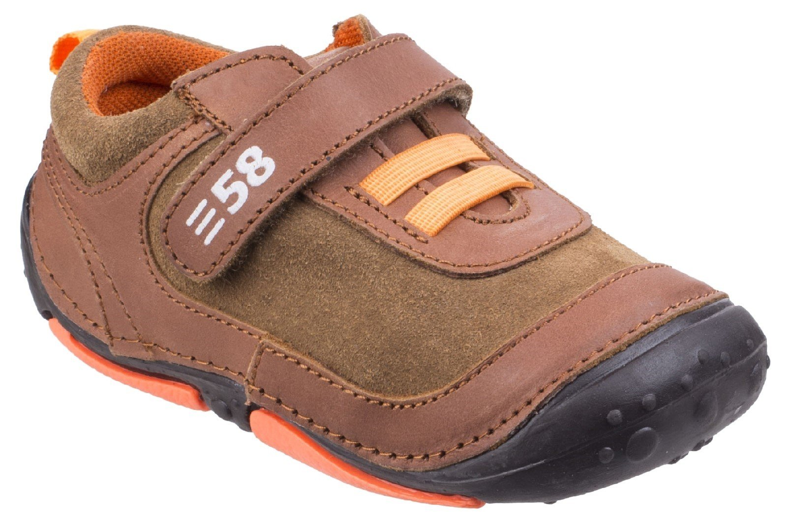 Hush Puppies Men's Harry Touch Fastening Trainer Various Colours 26391 - Brown 2