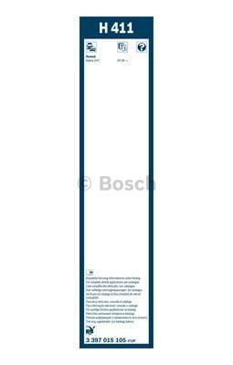 Wiper Blade BOSCH 3 397 015 105