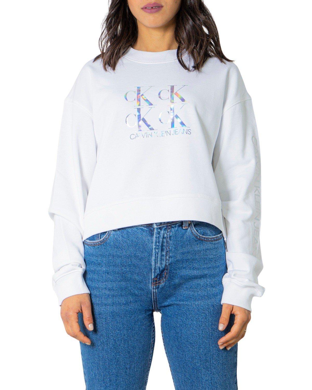Calvin Klein Jeans Women Sweatshirt Various Colours 238990 - white S