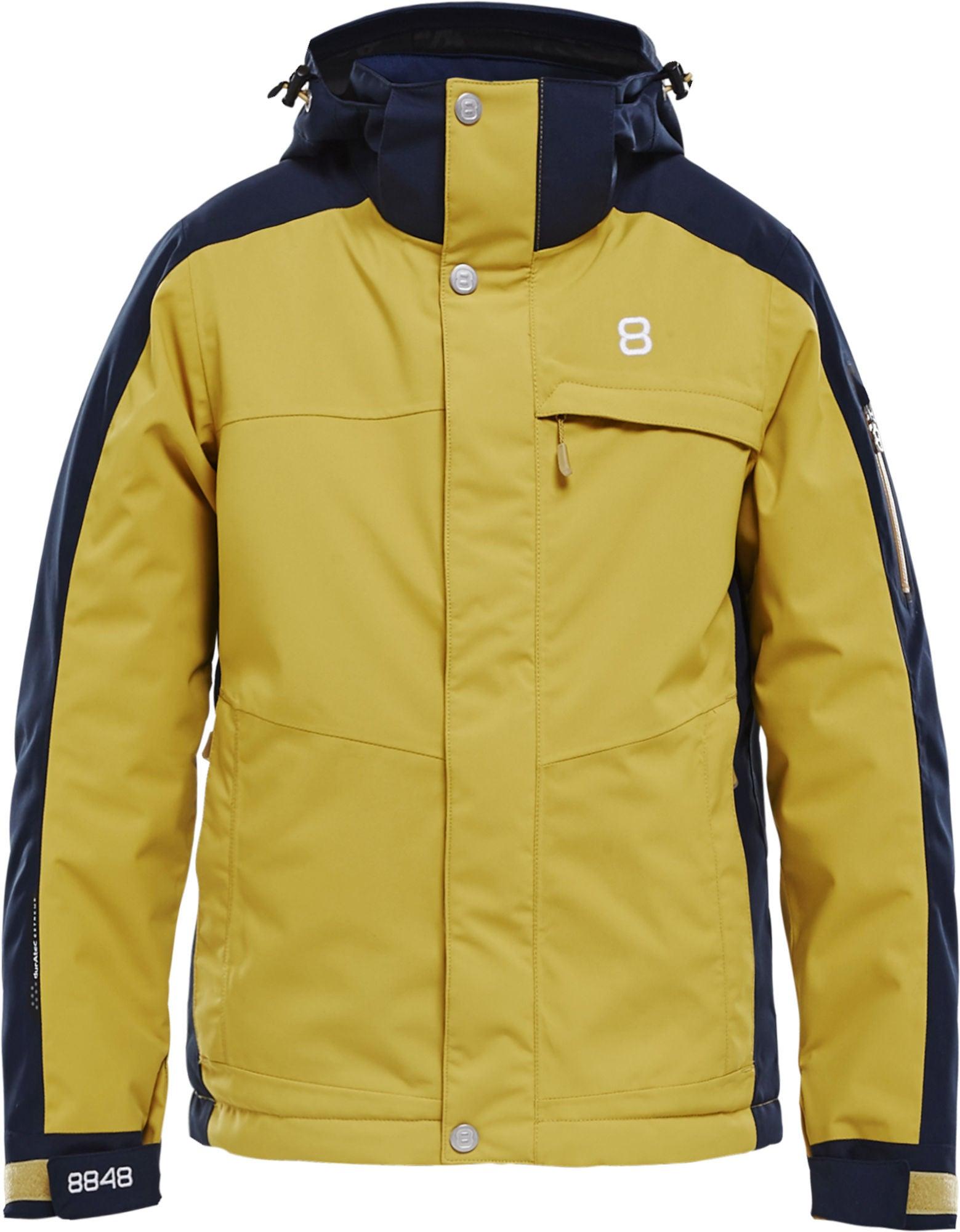 8848 Altitude Gils Jr Jacka, Mustard 120