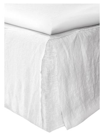 Sängkappa Loose-Fit Mira white 160x220x42