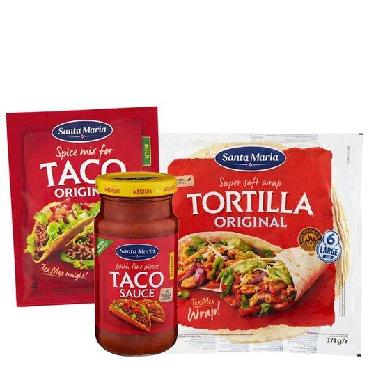 Taco-paketti - 61% alennus