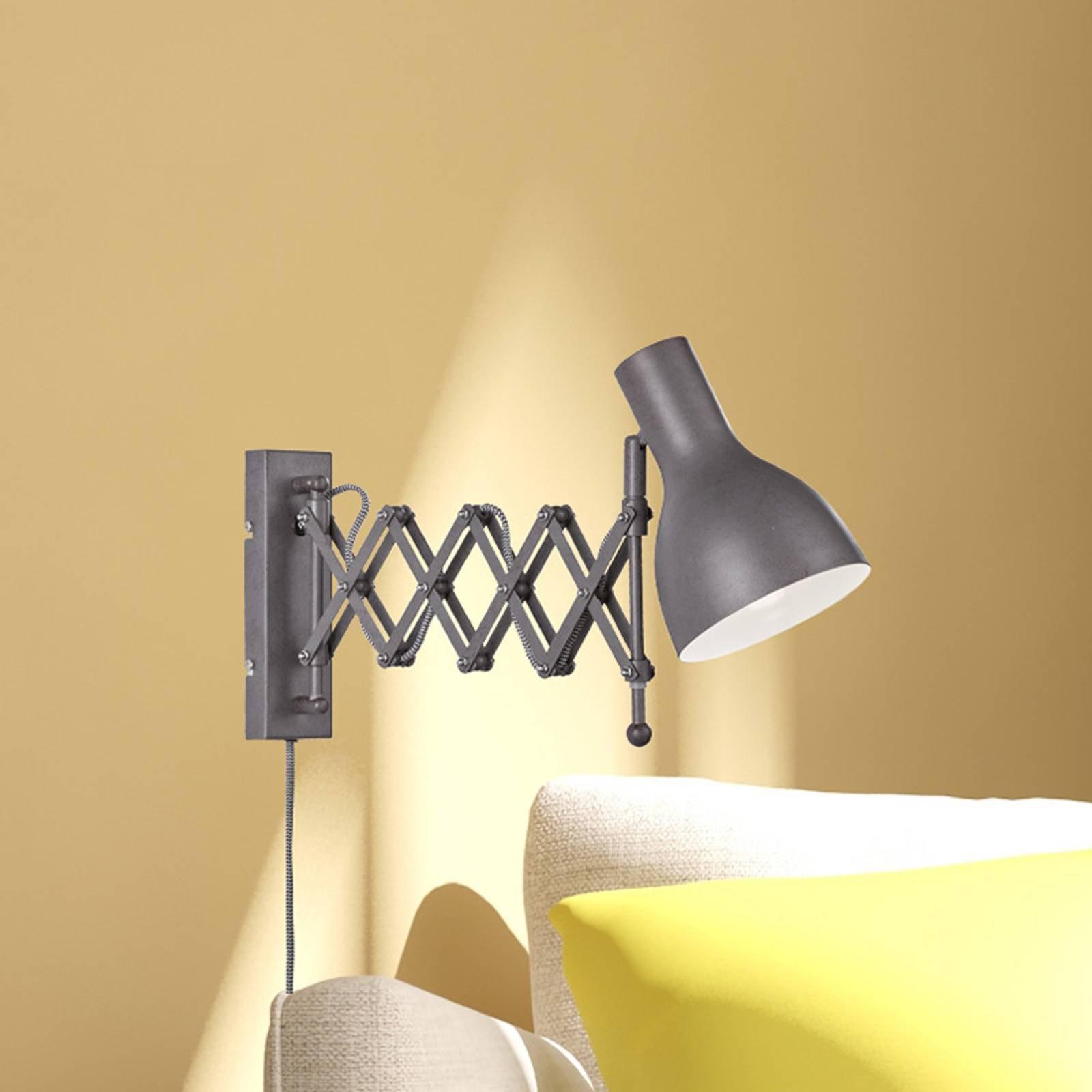 Trekkspillampe til vegg Pull