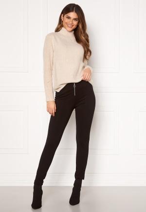ONLY Tia-zip Legging Black L