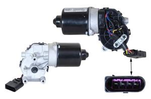 Pyyhkijän moottori, Edessä, AUDI A4, A4 Avant, A4 Cabriolet, SEAT EXEO, EXEO ST, 8E1 955 113, 8E1 955 119, 8E1955119
