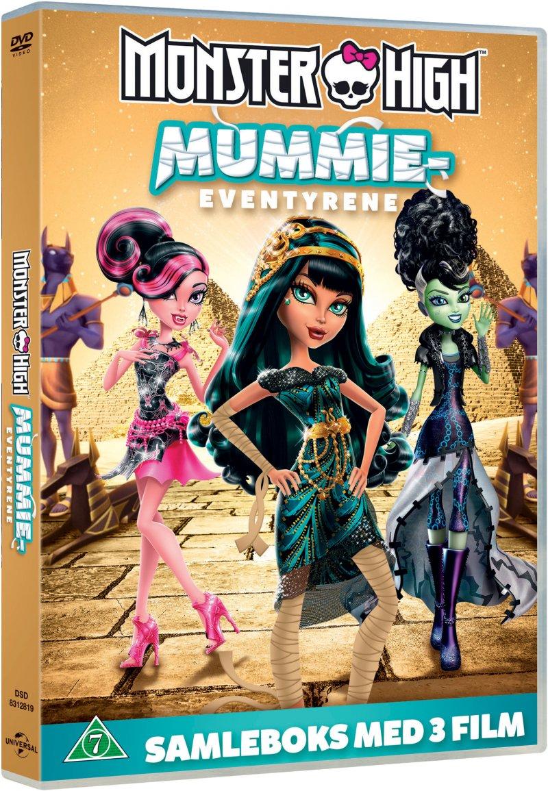 Monster High: The Mummy Adventures Box - DVD