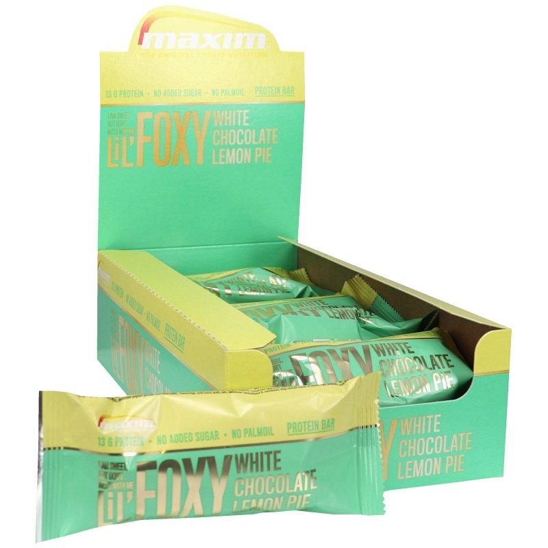 Proteiinipatukat White Chocolate & Lemon Pie 15kpl - 50% alennus