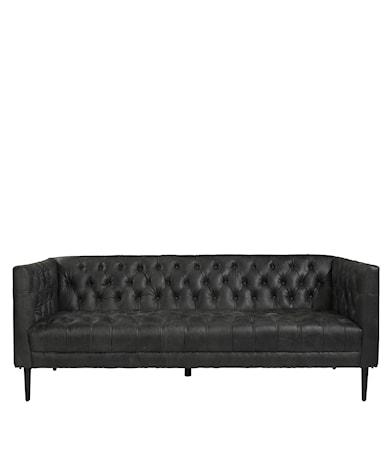 WILLIAMS sofa 3-s natural washed ebony
