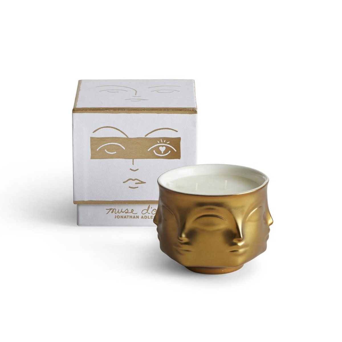 Jonathan Adler I Muse D'Or Ceramic Candle