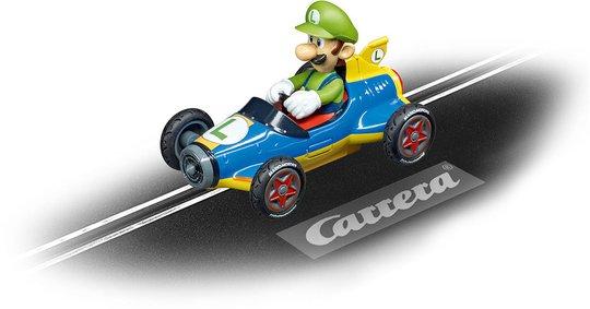 Carrera Go!!! Nintendo Mario Kart Mach 8 Luigi Racerbil