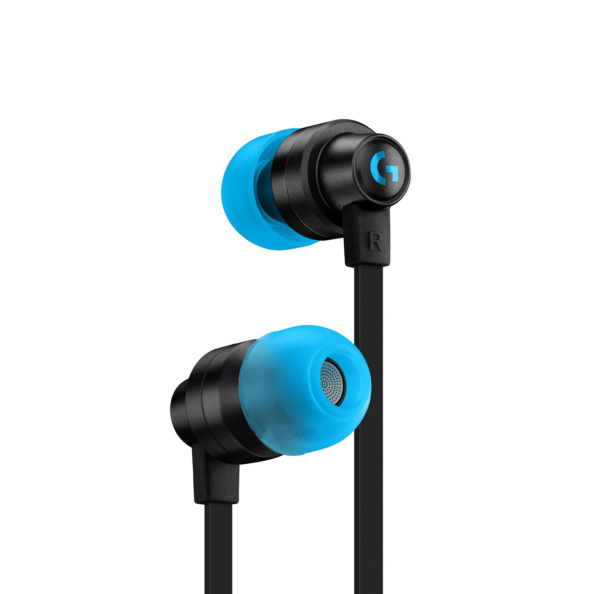 Logitech - G333 In-ear Gaming Headphones Black