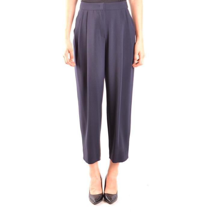 Armani Collezioni Women's Trouser Blue 164042 - blue 42