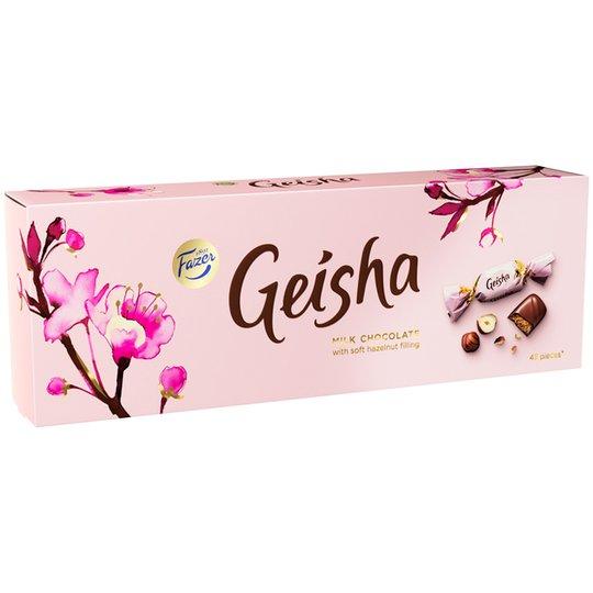 Suklaa, Geisha 350 g - 50% alennus
