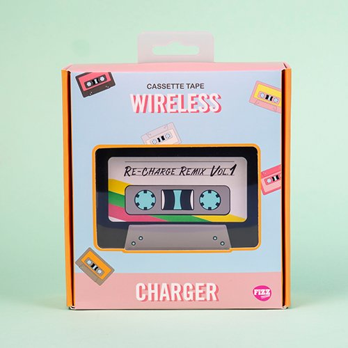 Wireless Charger - Cassette Tape (1602)
