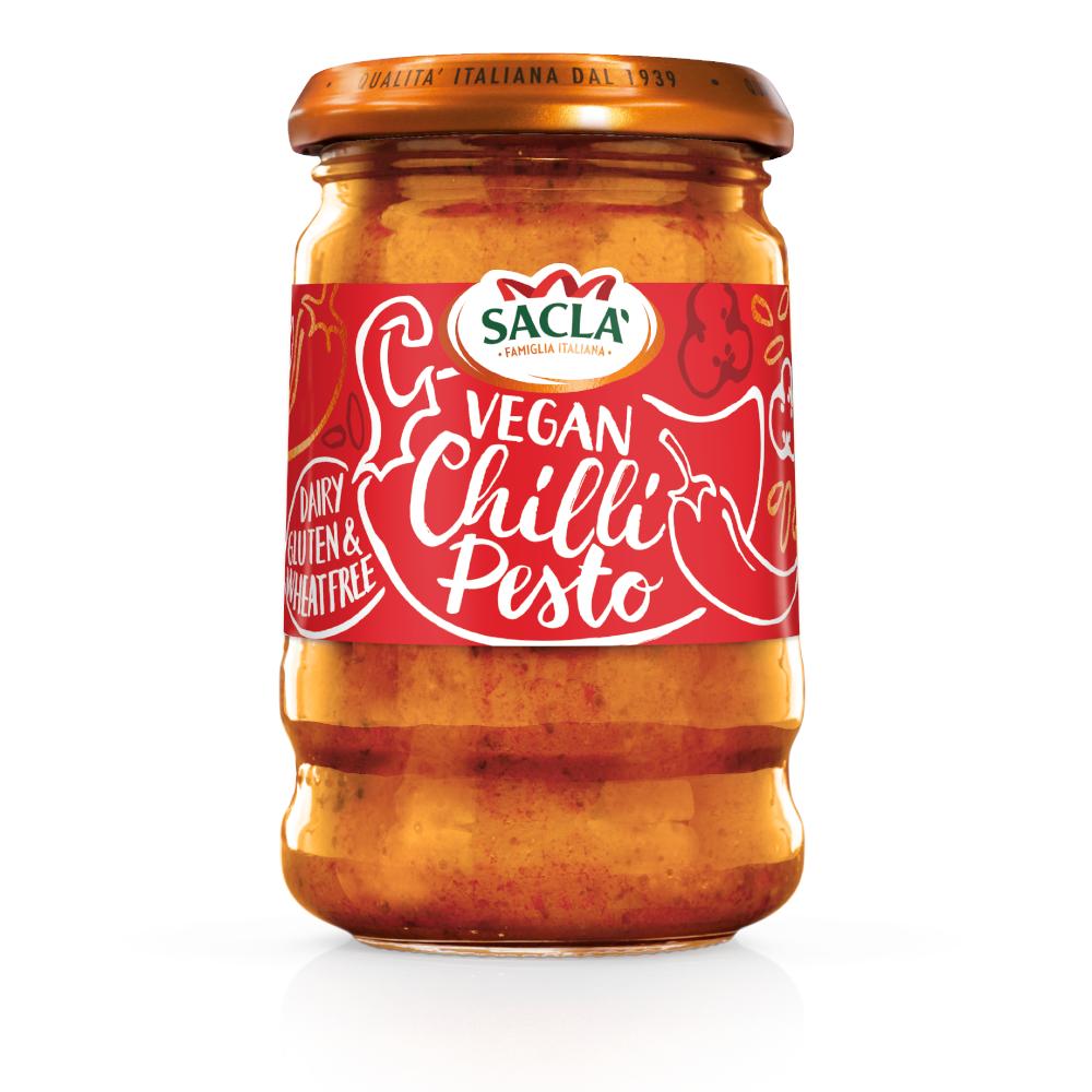Sacla' Vegan Chilli Pesto 190g