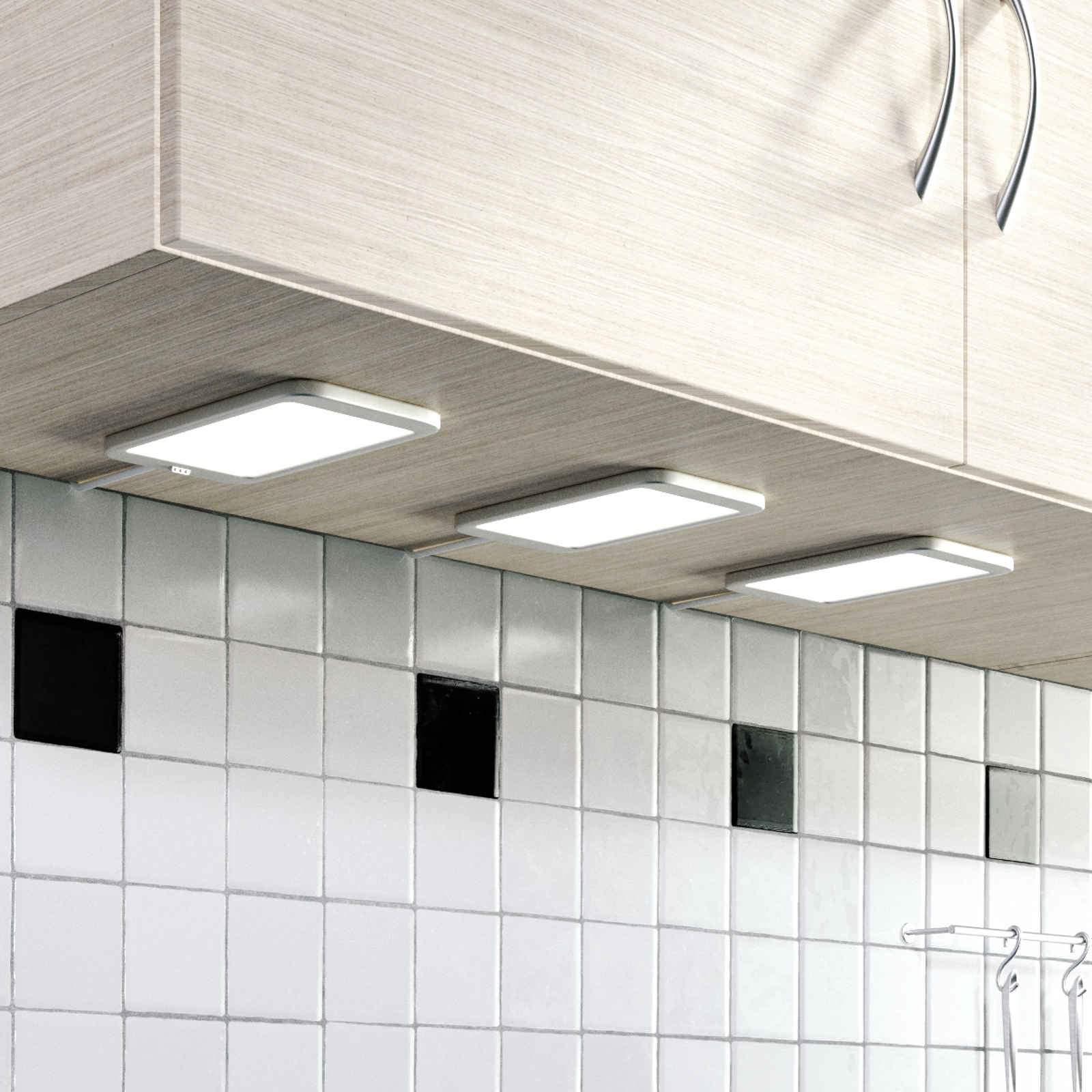LED-kaapinalusvalaisin Svela, 3 kpl/sarja