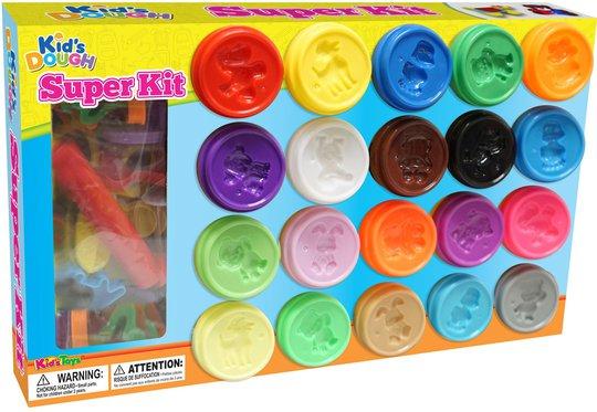 Kid´s Dough Lekeleire Superkit 20 Farger