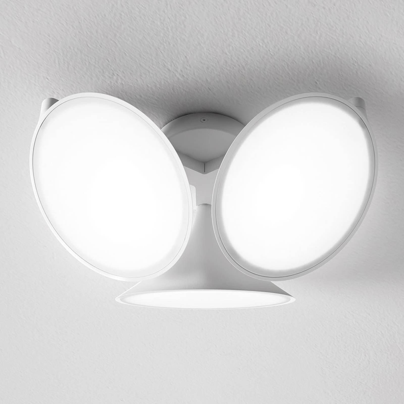 Axolight Orchid LED-taklampe, hvit