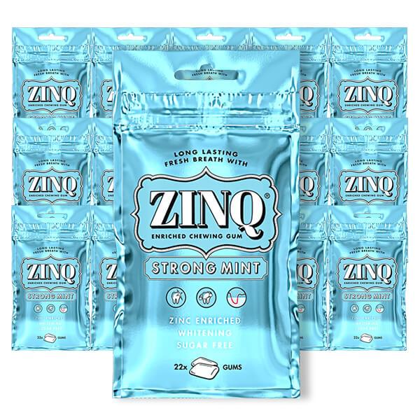 ZINQ Strong Mint 31.5 g x 15 st