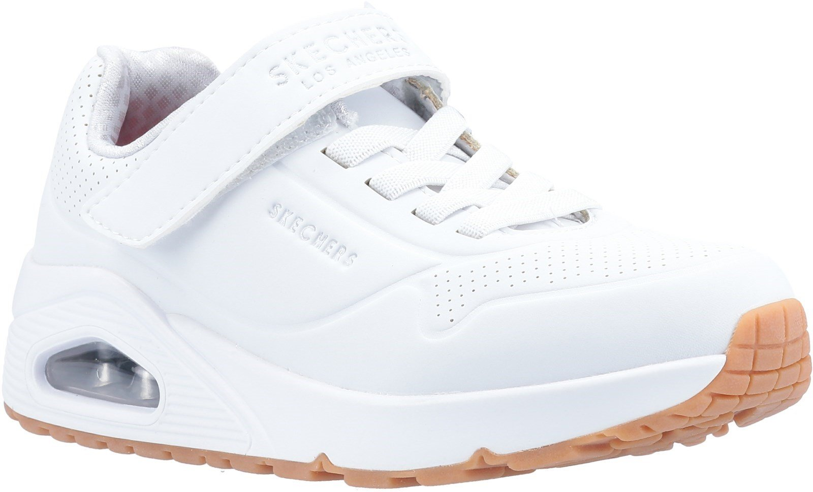 Skechers Kid's Uno Air Blitz Casual Trainer Various Colours 30898 - White 12