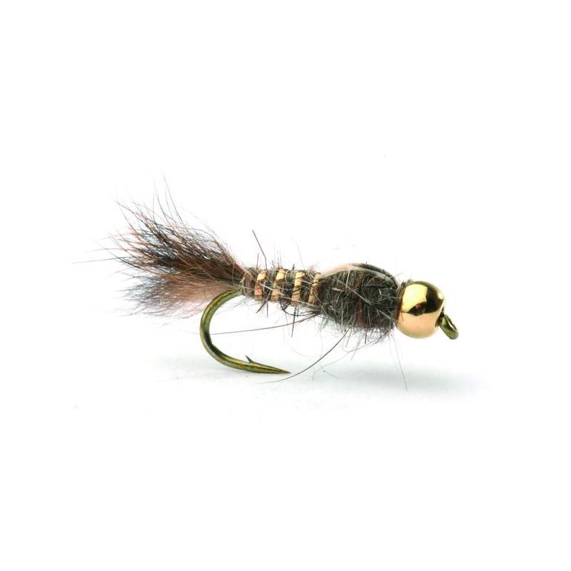 Hares Ear Gold Bead #14 Kjøp 12 fluer få gratis flueboks