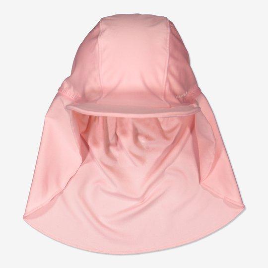 Solcaps med UV-beskyttelse rosa