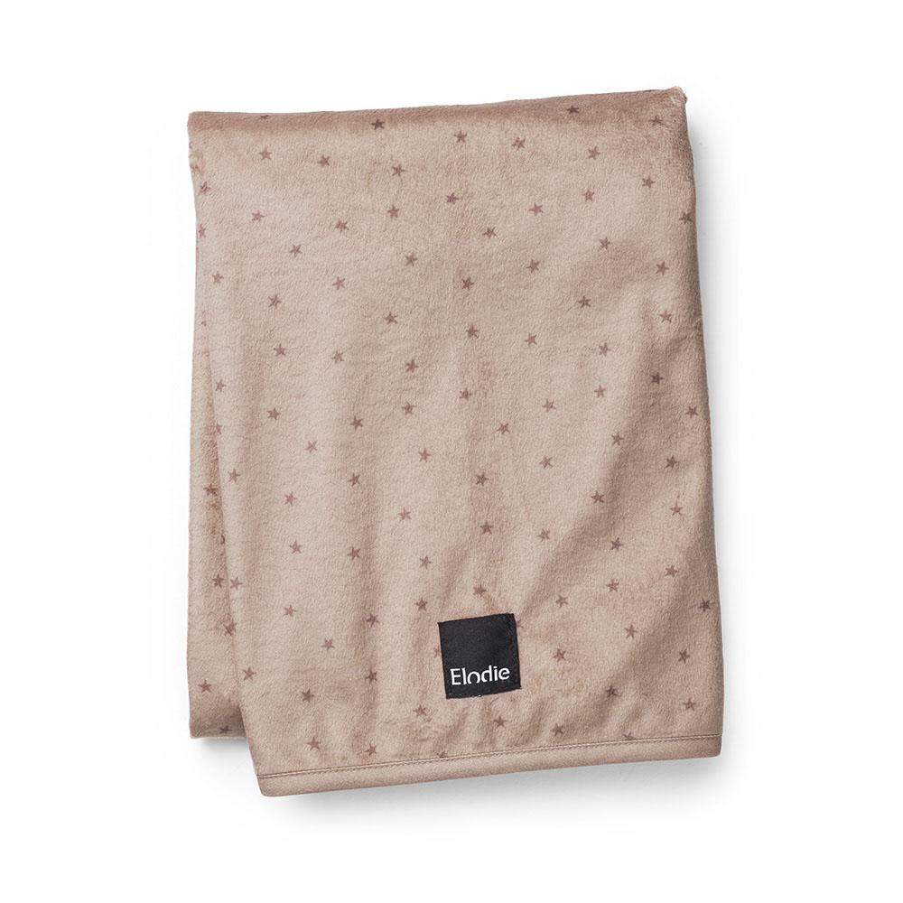 Pearl Velvet Blanket - Northern Star Terracotta