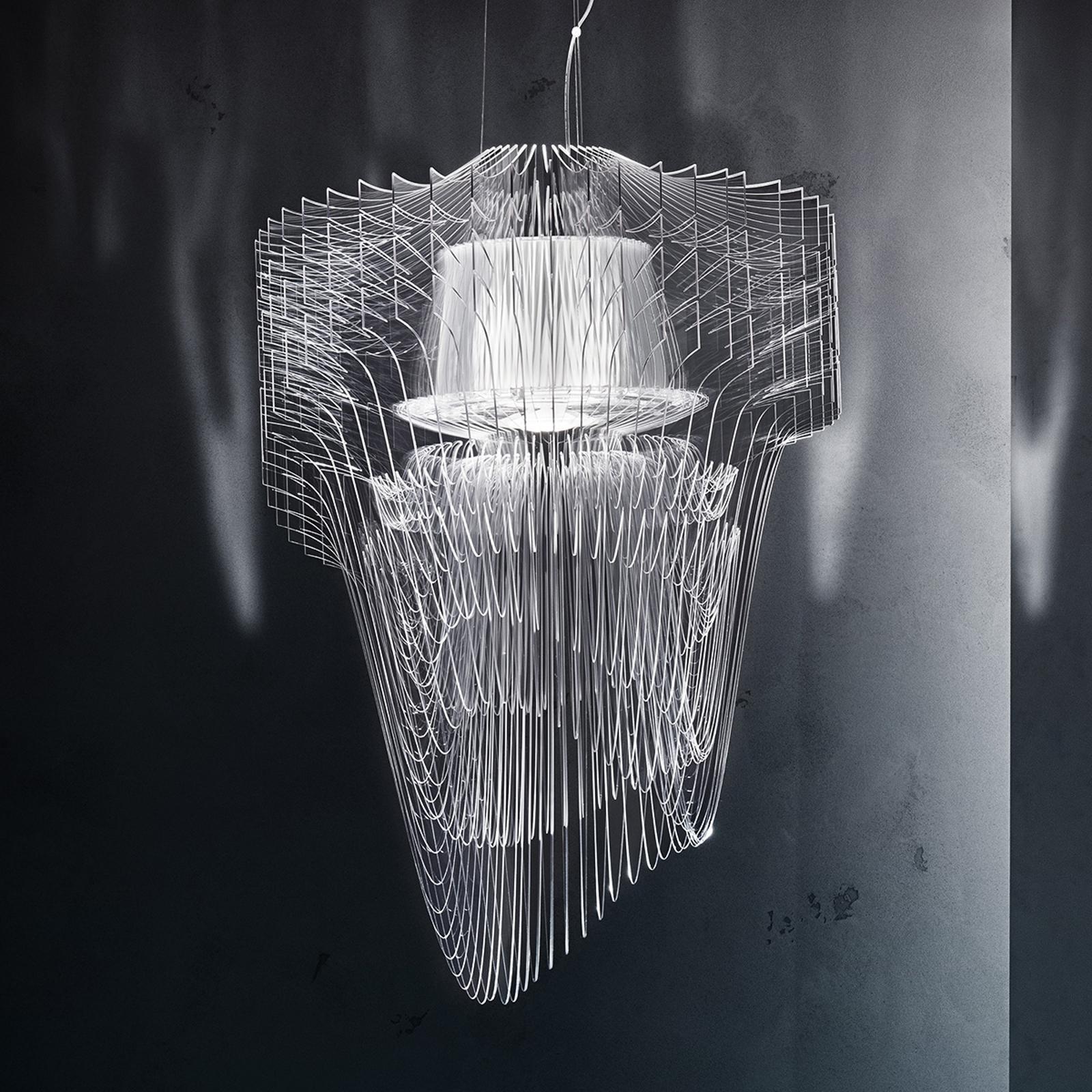 Runsas design-LED-riippuvalaisin Aria, 90 cm