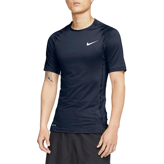 Nike Pro Comp Top S/S, Obsidian