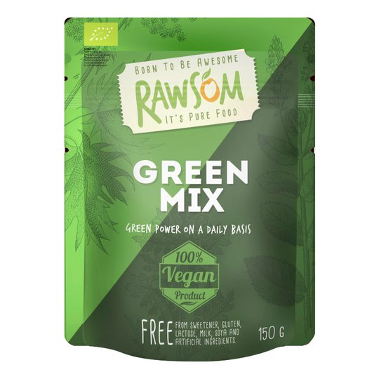 Luomu Green Mix Viherjauhe - 46% alennus