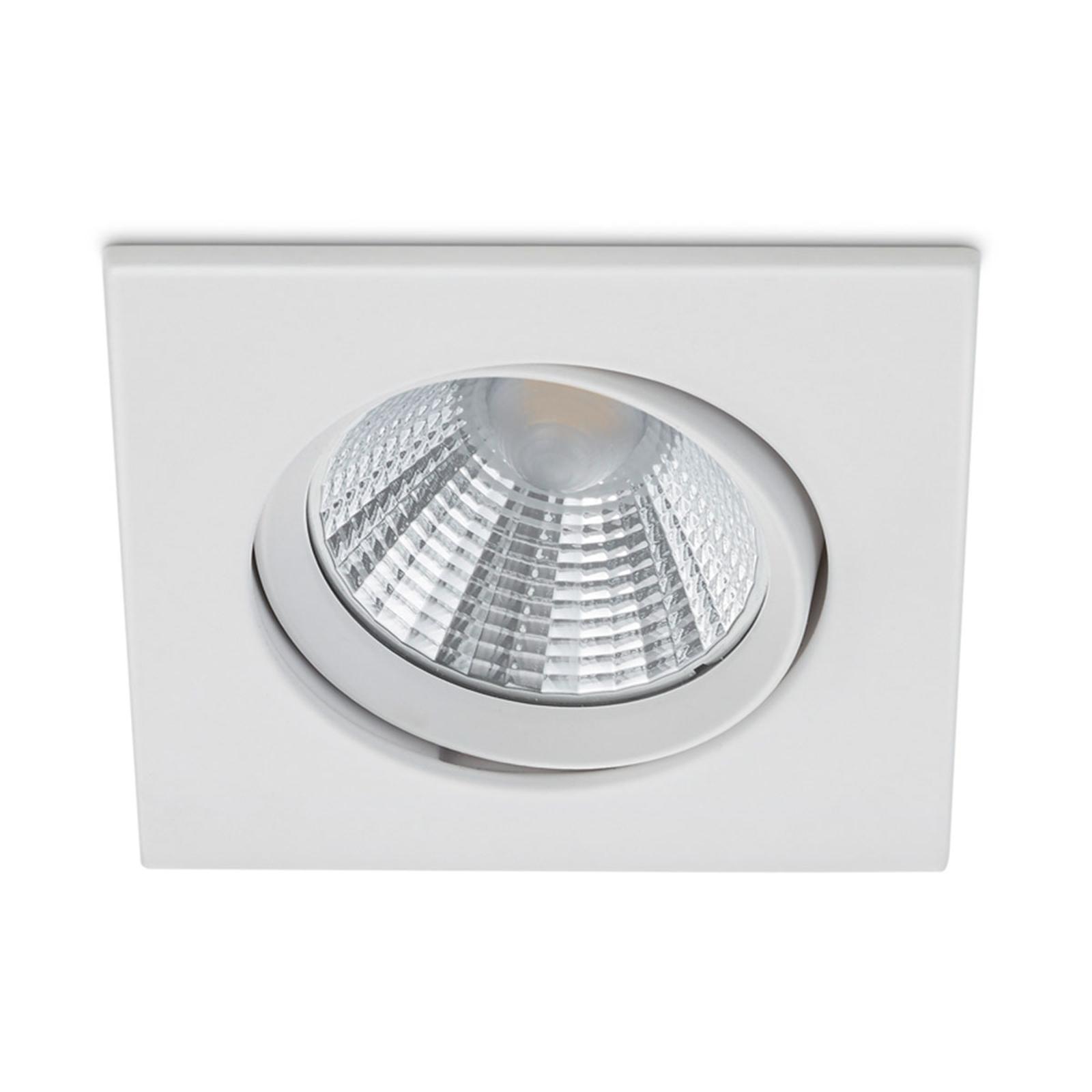 Upotettava LED-kohdevalaisin Pamir, valkoinen