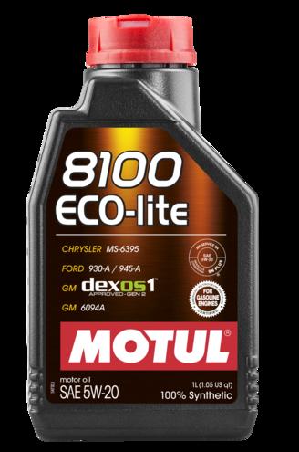 Moottoriöljy MOTUL 8100 ECO-LITE 5W20 1L