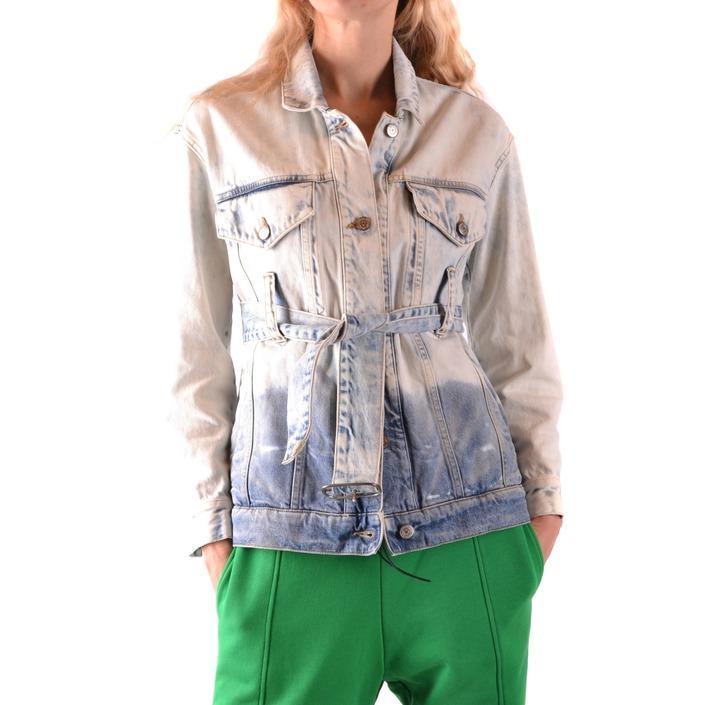 Golden Goose Women's Jacket Blue 187148 - blue XS