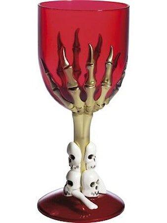 Gotisk Vinglass Rød