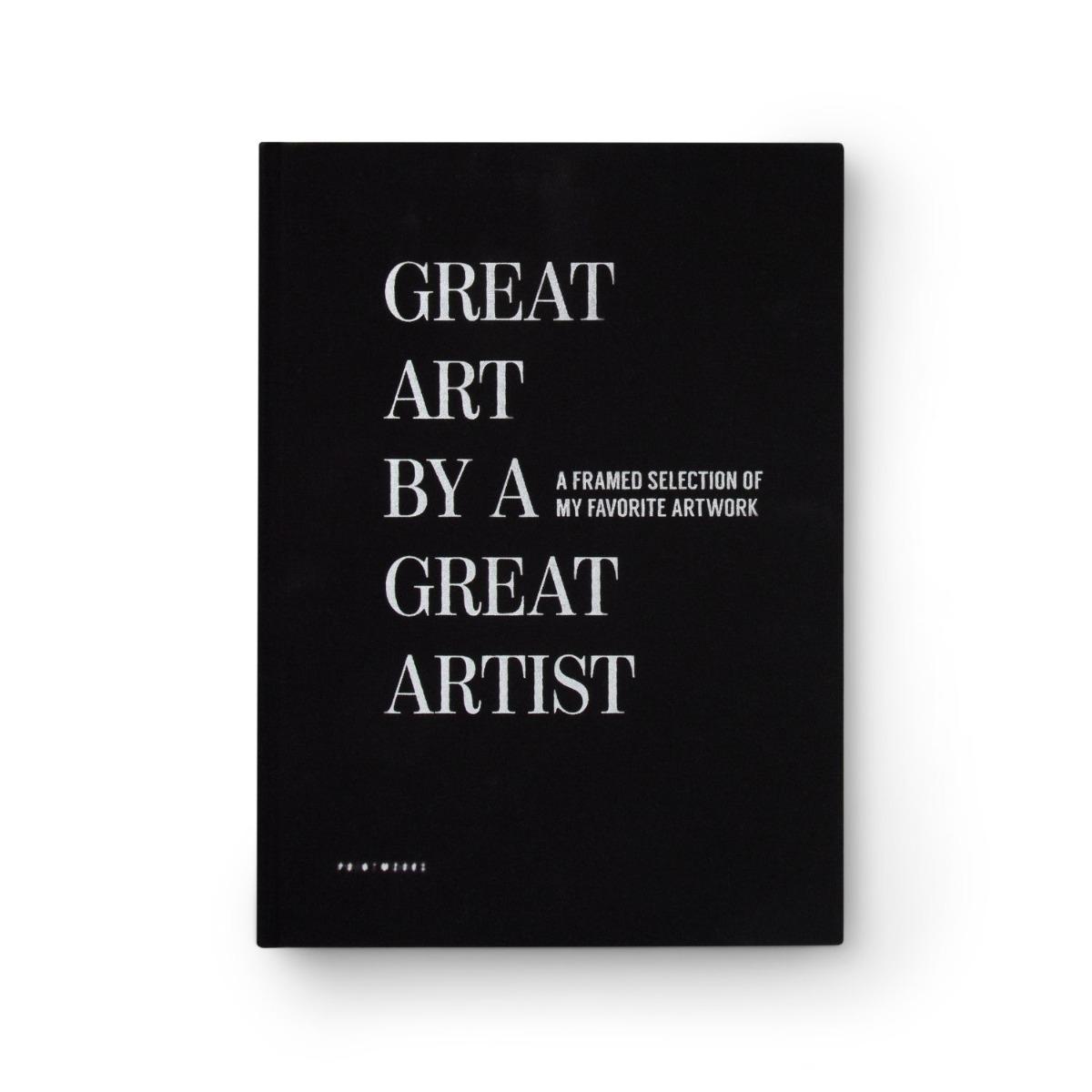 Printworks Frame book - Great Art Svart