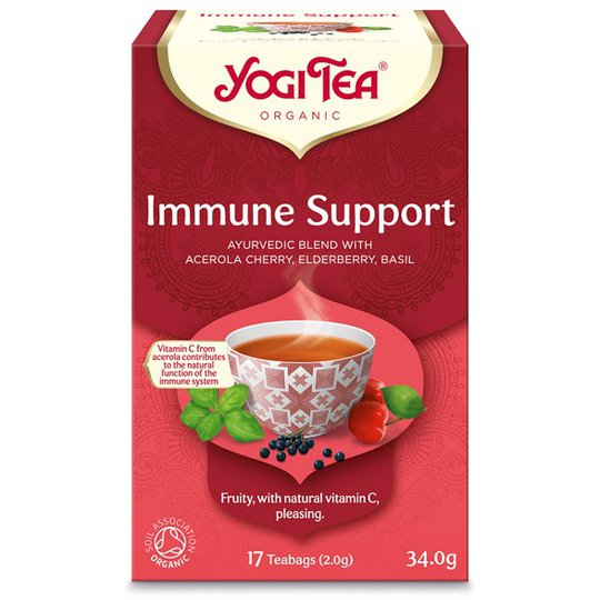 Yogi Tea Immune Support, 17 påsar