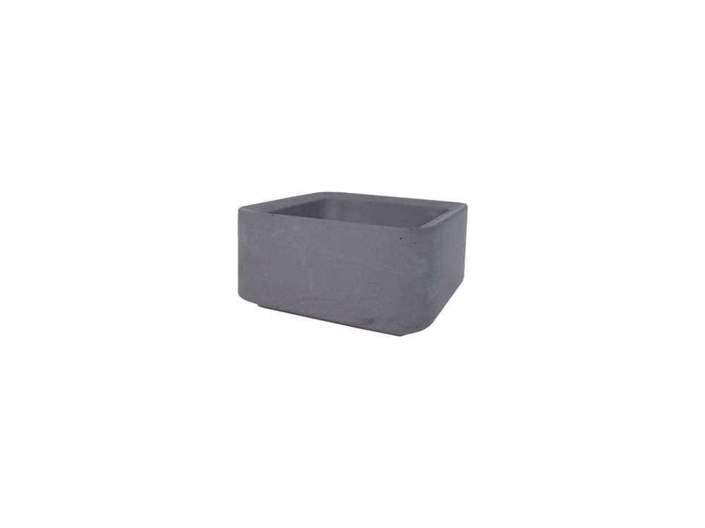 LIKEconcrete - Karin Box Small - Antracit Grey (93832)