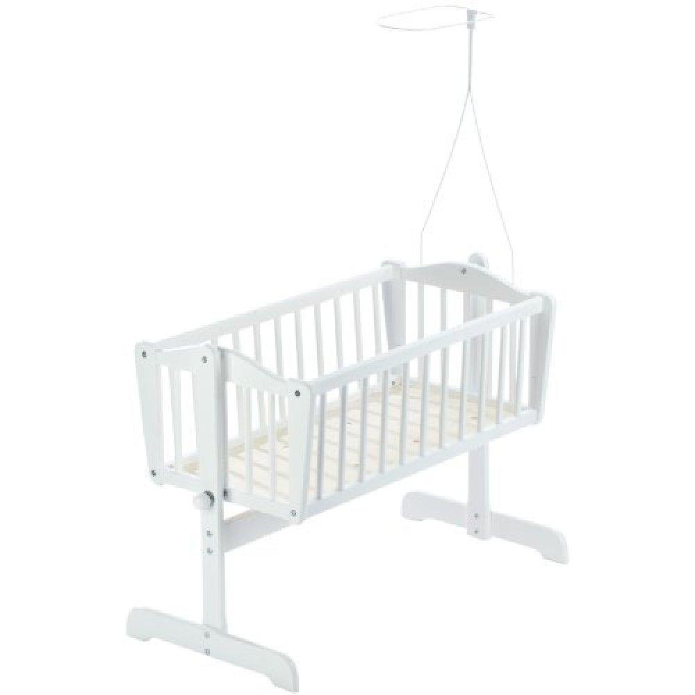 Baby Dan - Sofie Crib w. Drape Bar - White