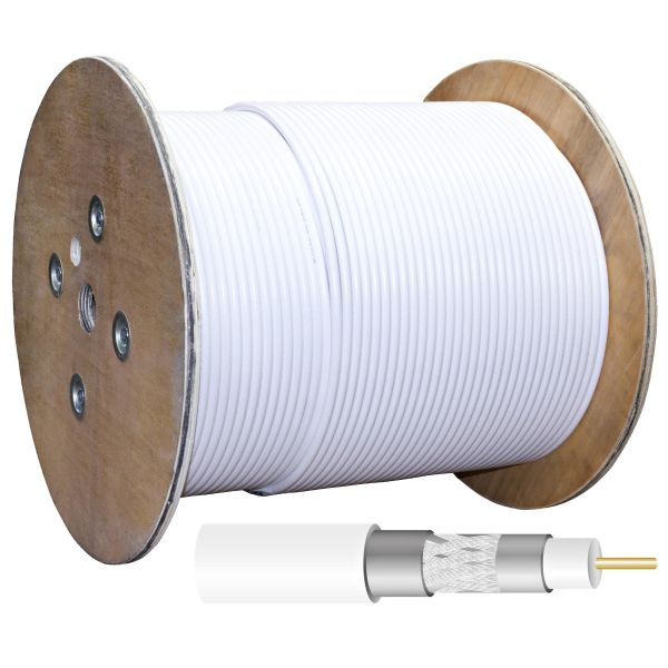 Televes RG-11T Koaksiaalikaapeli 1,6/7,1 mm, kolminkertainen suoja, 1 m