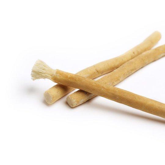 Natural Brush Miswak Naturlig Tandborste med Myntasmak