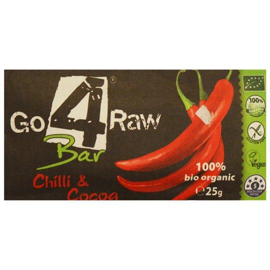 """""""Raw Bar"""" Chili & Kakao 25g - 22% rabatt"""