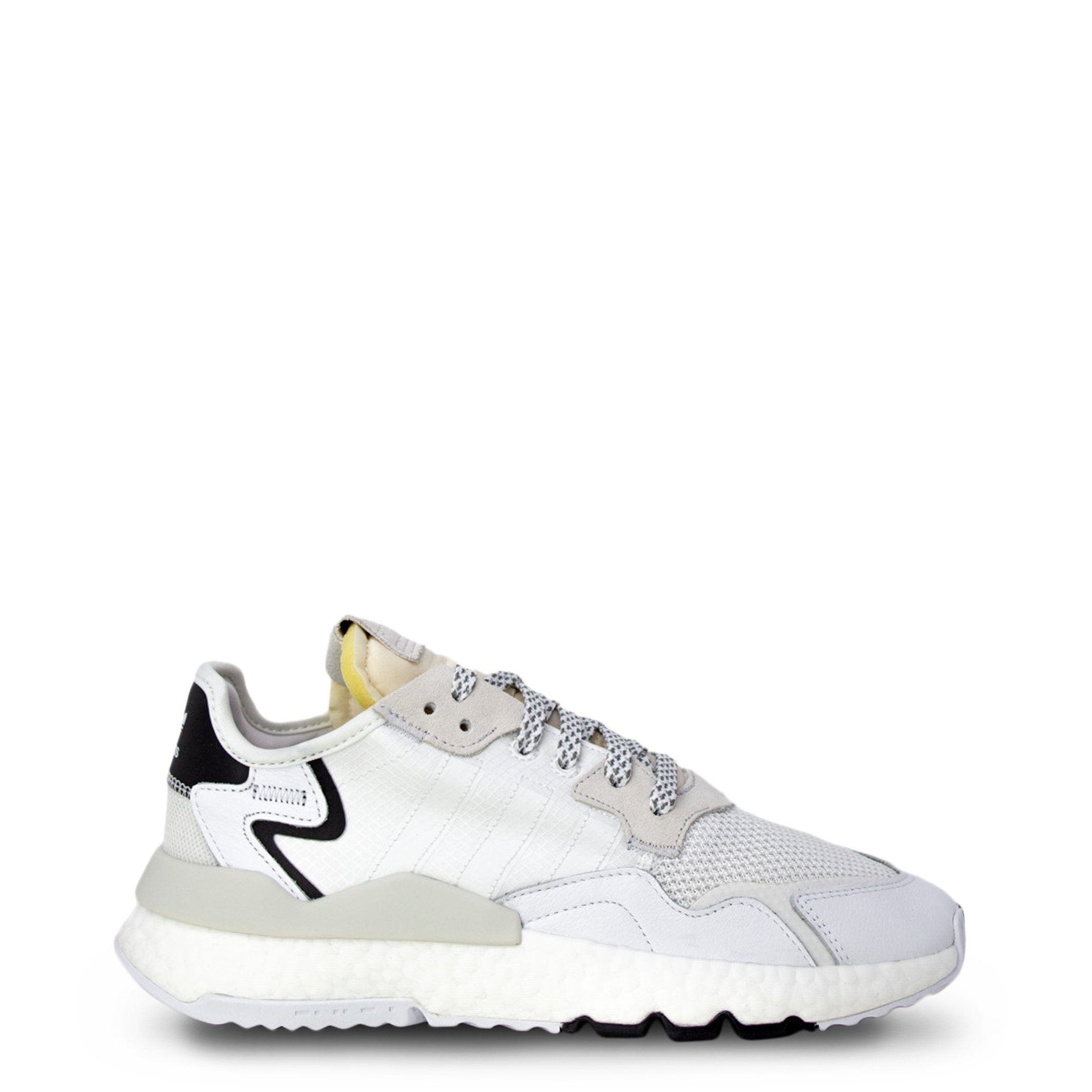 Adidas Men's Nite Jogger Trainers Various Colours EE6254 - white 11 UK