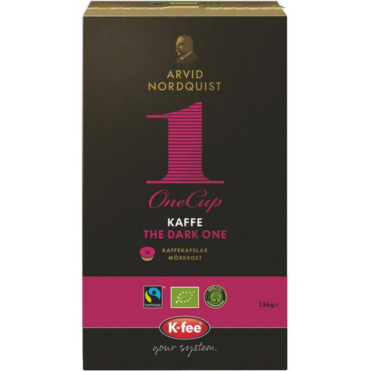 "Eko Kaffekapslar ""The Dark One"" 16-pack - 15% rabatt"