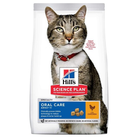 Hill's Science Plan Cat Adult Oral Care Chicken (1,5 kg)
