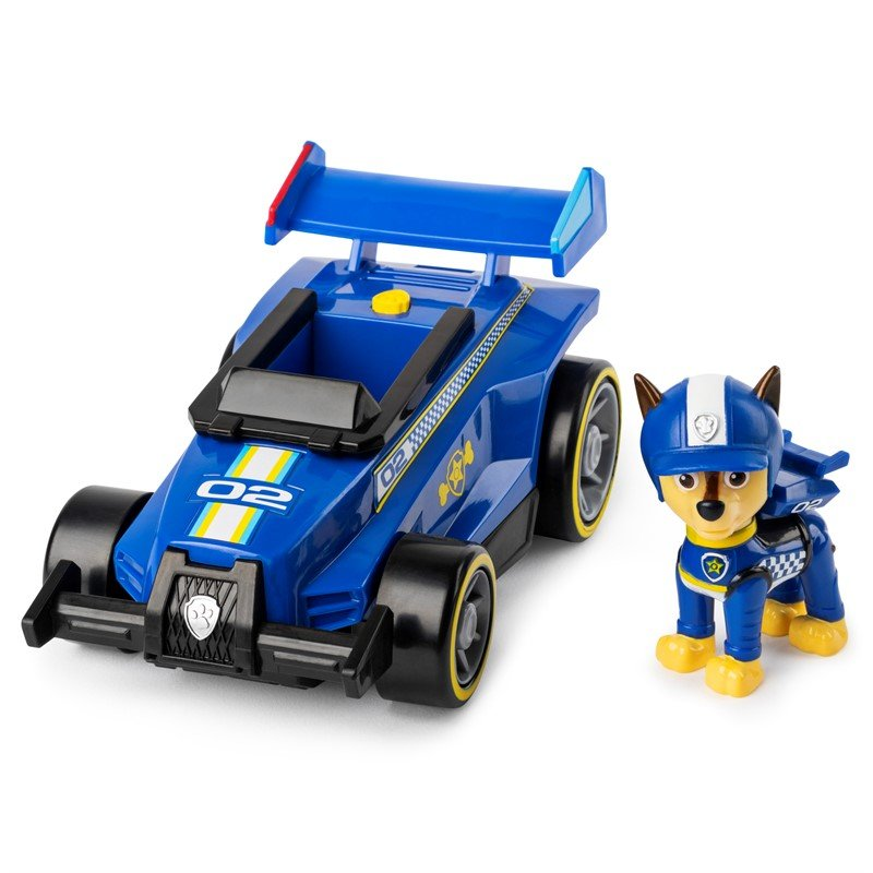 Paw Patrol - Race & Go Deluxe Vehicles - Chase